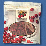 Gesunde Cranberries
