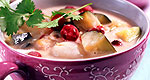 Cranberry-Kokos-Suppe