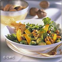 rezepte vegetarisch winter rosenkohl rucola salat. Black Bedroom Furniture Sets. Home Design Ideas