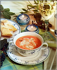 Tomaten-Whisky-Suppe